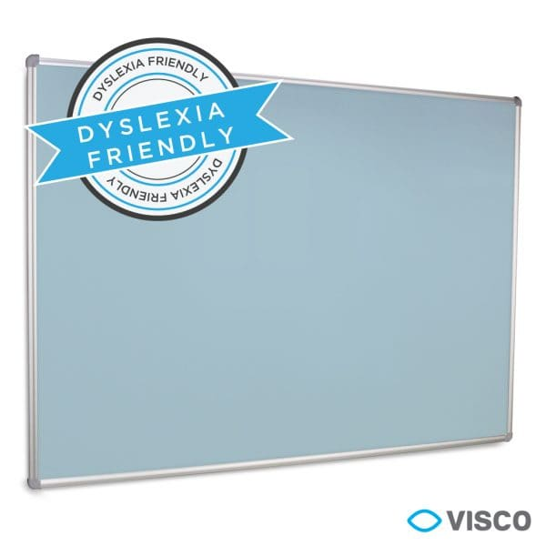 Coloured Whiteboard - Blue- Education Whiteboard