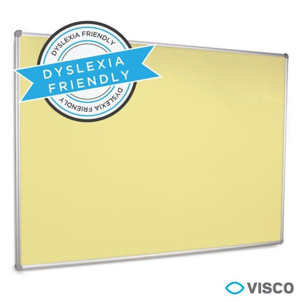 Coloured Whiteboard - Yellow - Education Whiteboard