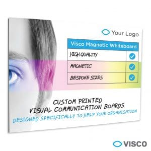 Printed Magnetic Unframed Whiteboards